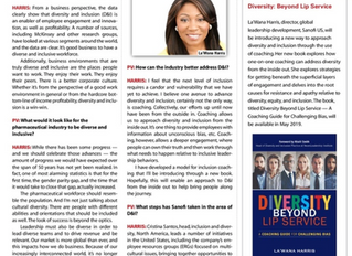Advancing Diversity and Inclusion- PharmaVoice