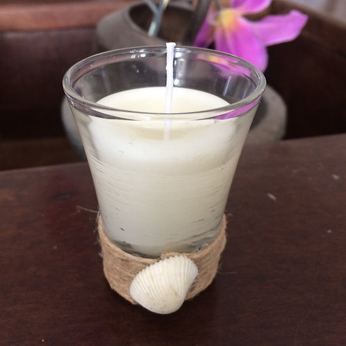 Vela copo com concha - rúsitca