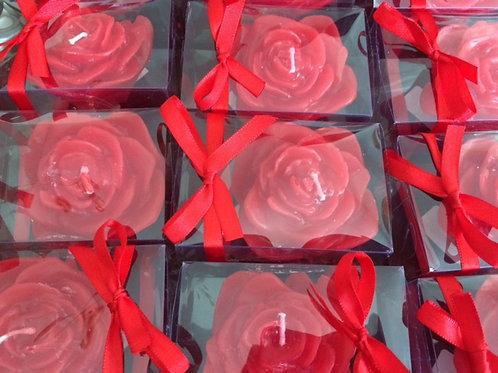Brinde dia da mulher, dia das mães - Vela rosa