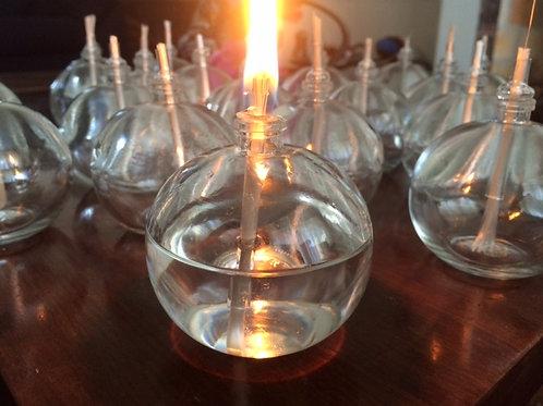 Vela de mesa, lamparina