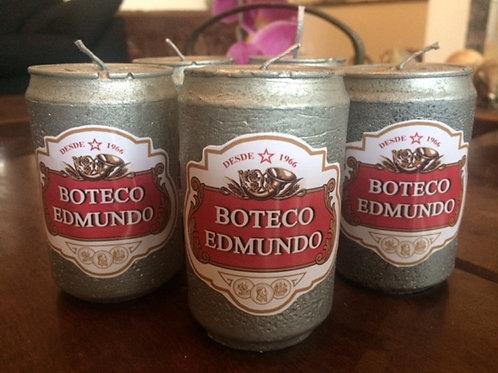 Vela Cerveja de latinha
