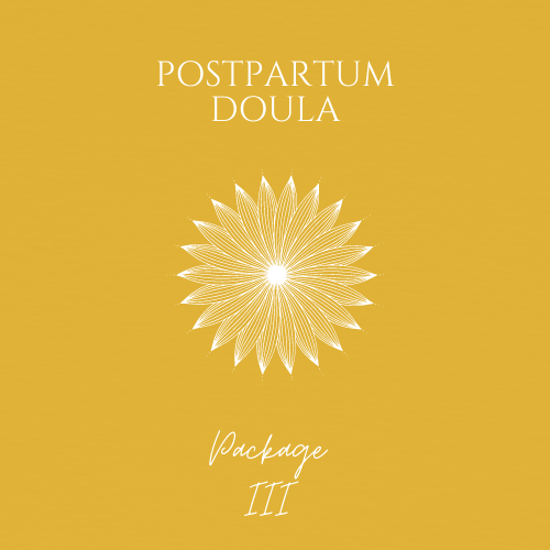 Doula Postpartum Package III