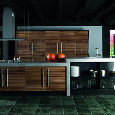 Ultra Gloss Noce Marino Kitchen