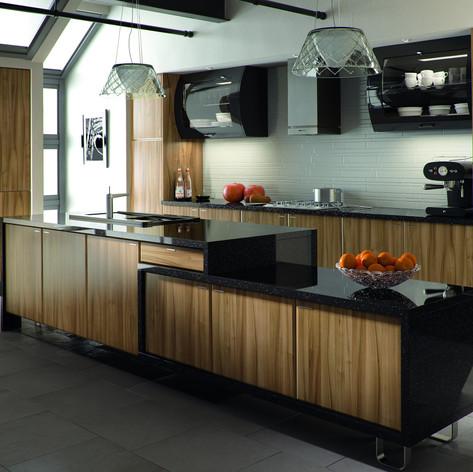 Tiepolo Light Walnut Pisa Kitchen