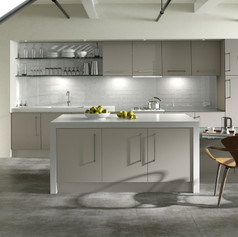 Ultra Matt Metallic Cashmere Kitchen