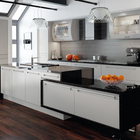 Matt Dove Grey Inset Kitchen