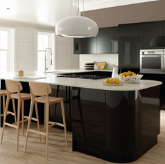 Ultra Gloss Black Kitchen