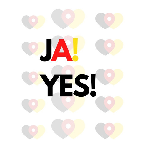 Saying Yes in German: 20 ways!