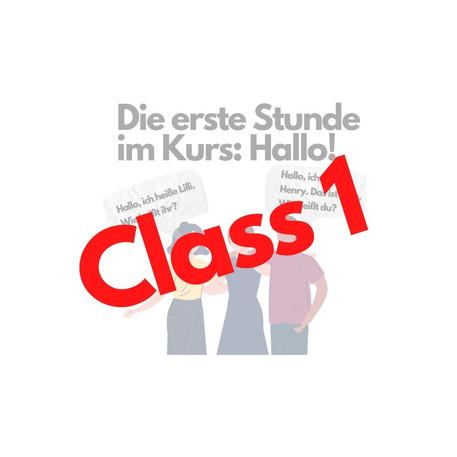 A1.1 Chapter 1: German Regular Verbs in the Present Tense