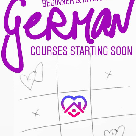 Online! Online! Our Online German Courses are starting soon!