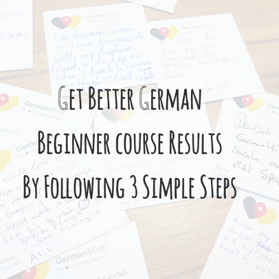 Get Better German Beginner course Results By Following 3 Simple Steps