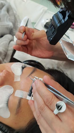 Lash Extensions Practice