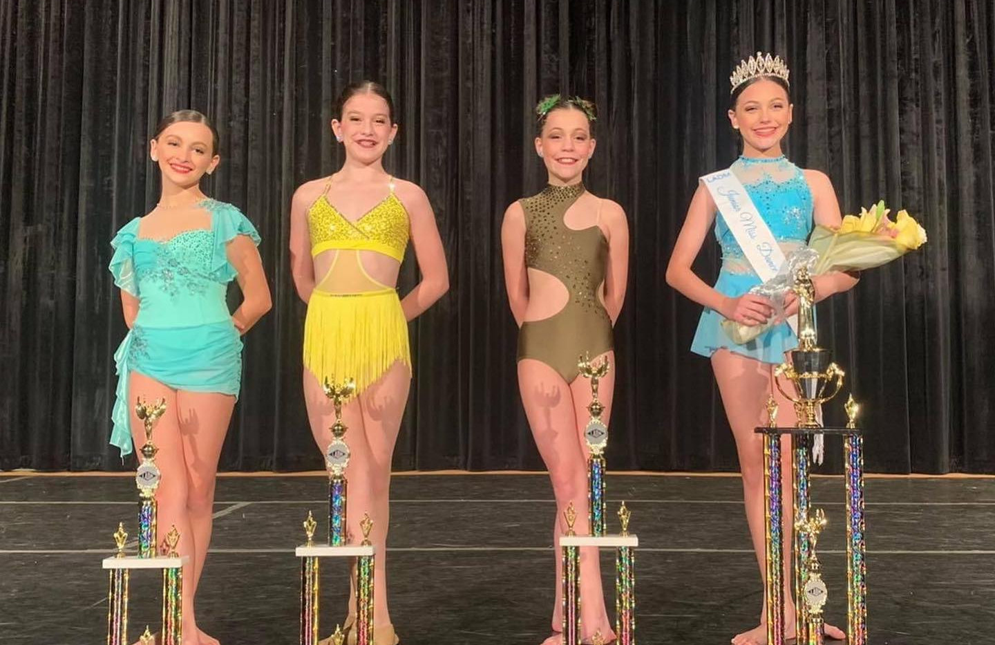 Junior Miss Dance of Louisiana Competition