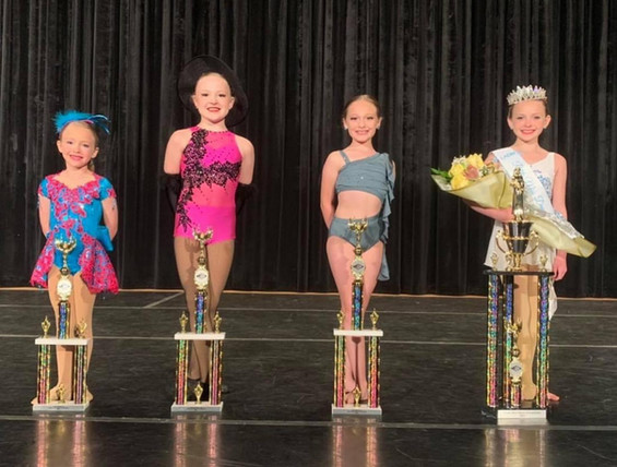 Petite Miss Dance of Louisiana Competition