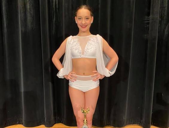 2nd Runner-up Teen Miss Dance of Louisiana