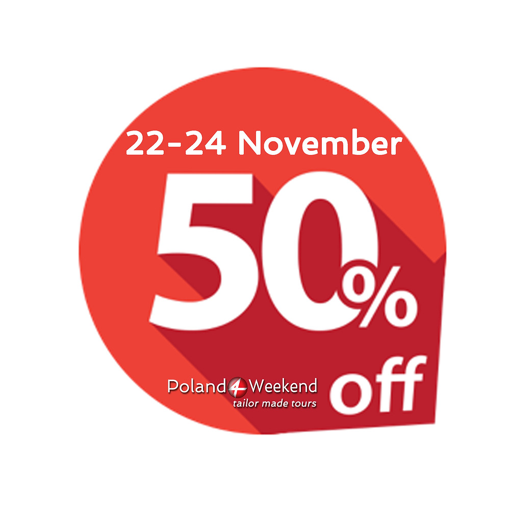Poland Weekend 50% price off