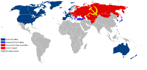 NATO vs Warsaw Pact