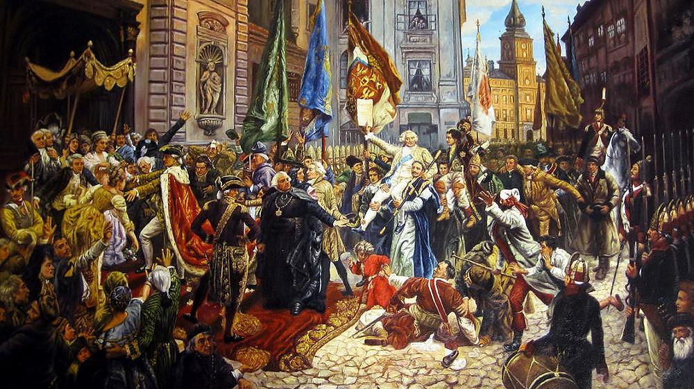 Jan Matejko, Constitution May 3rd, 1791