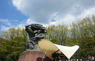 Chopin Monument in Park Lazienki Warsaw