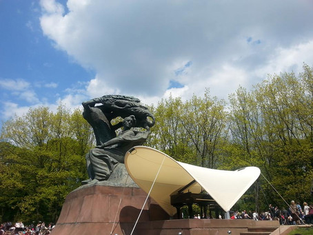 Chopin's summer concerts in Warsaw