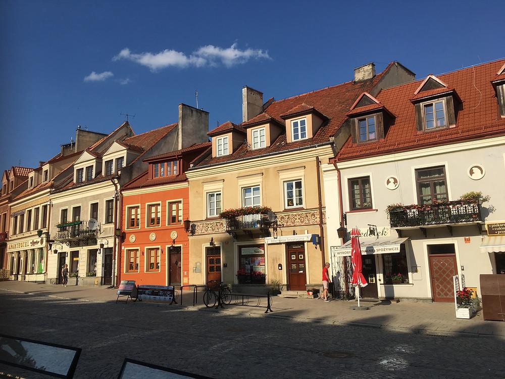 Sandomierz, Market Square