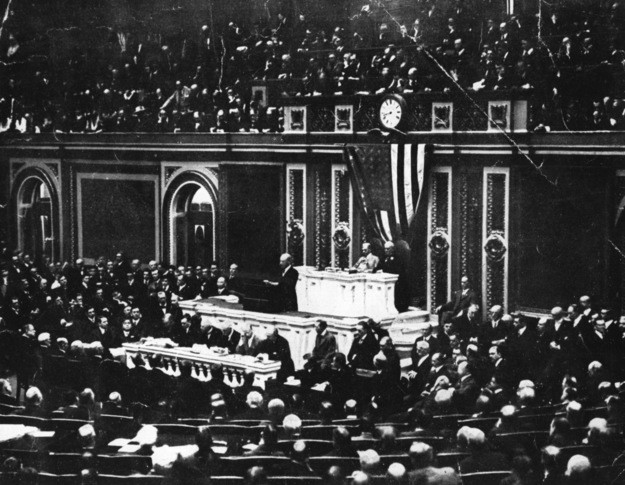 Woodrow Wilson speach in Congress