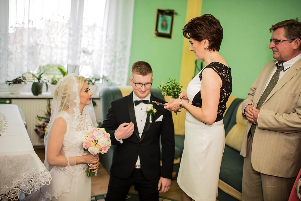 Polish wedding, Parents' Blessing