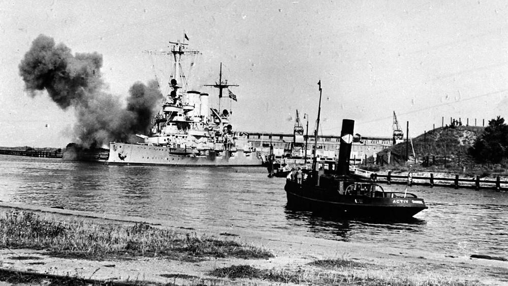 Westerplatte, 1st of September 1939, outbreak of WW2