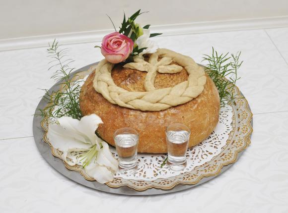 Polish Wedding bread&salt