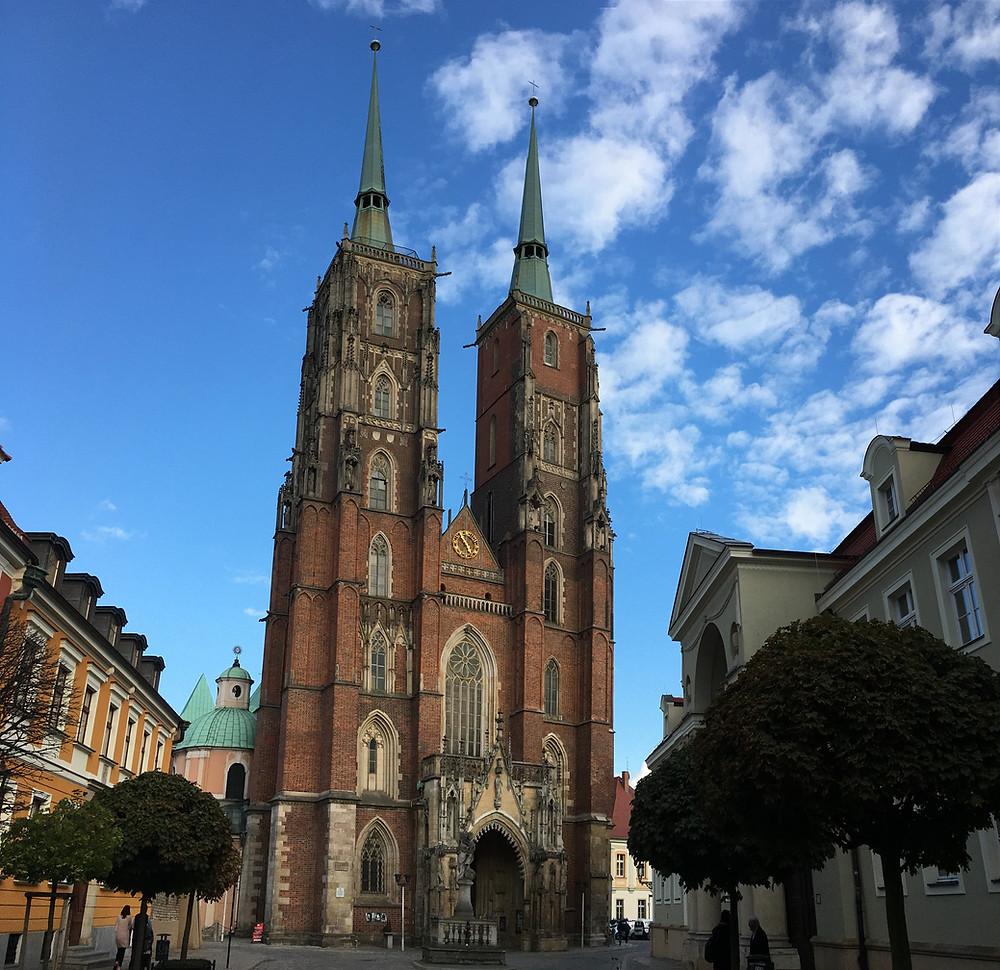 Wroclaw, Ostrów Tumski