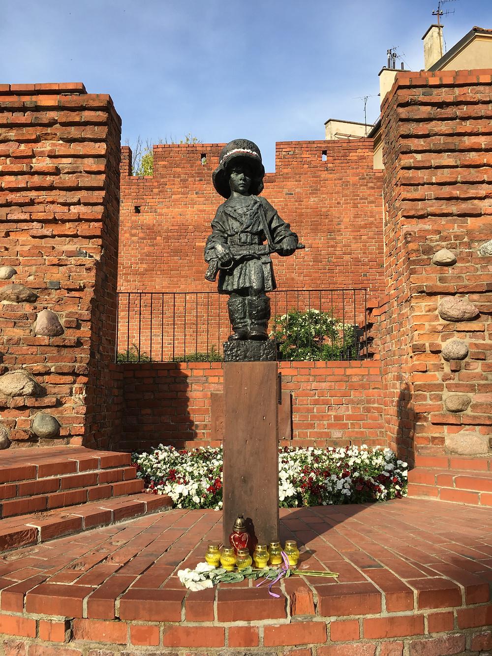 The Little Insurgent Monument