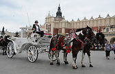Horse cab, Cracow