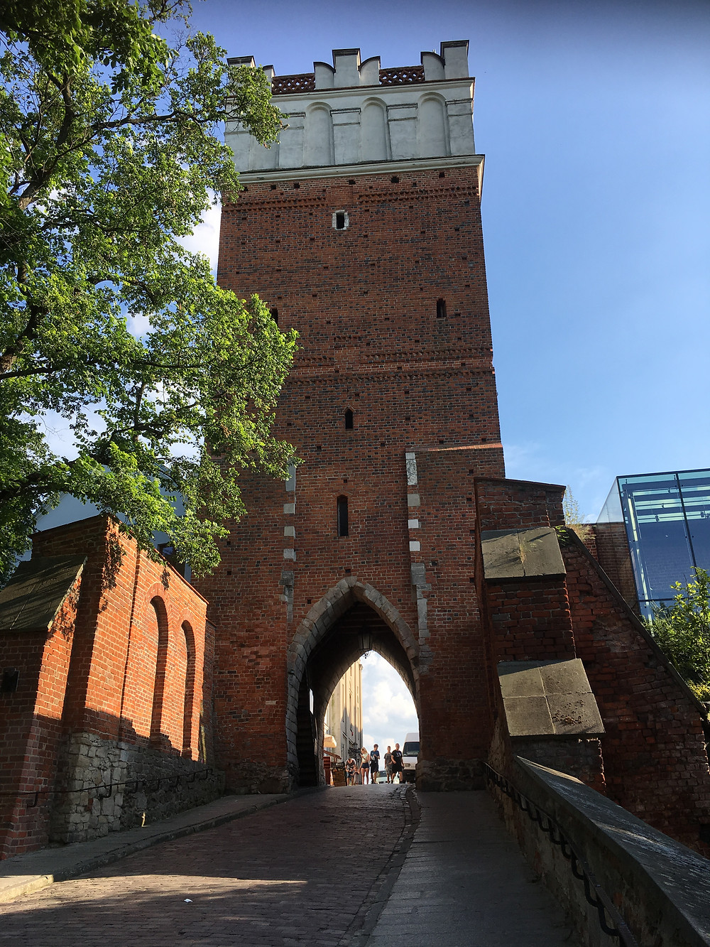 Sandomierz, Opatowska Gate