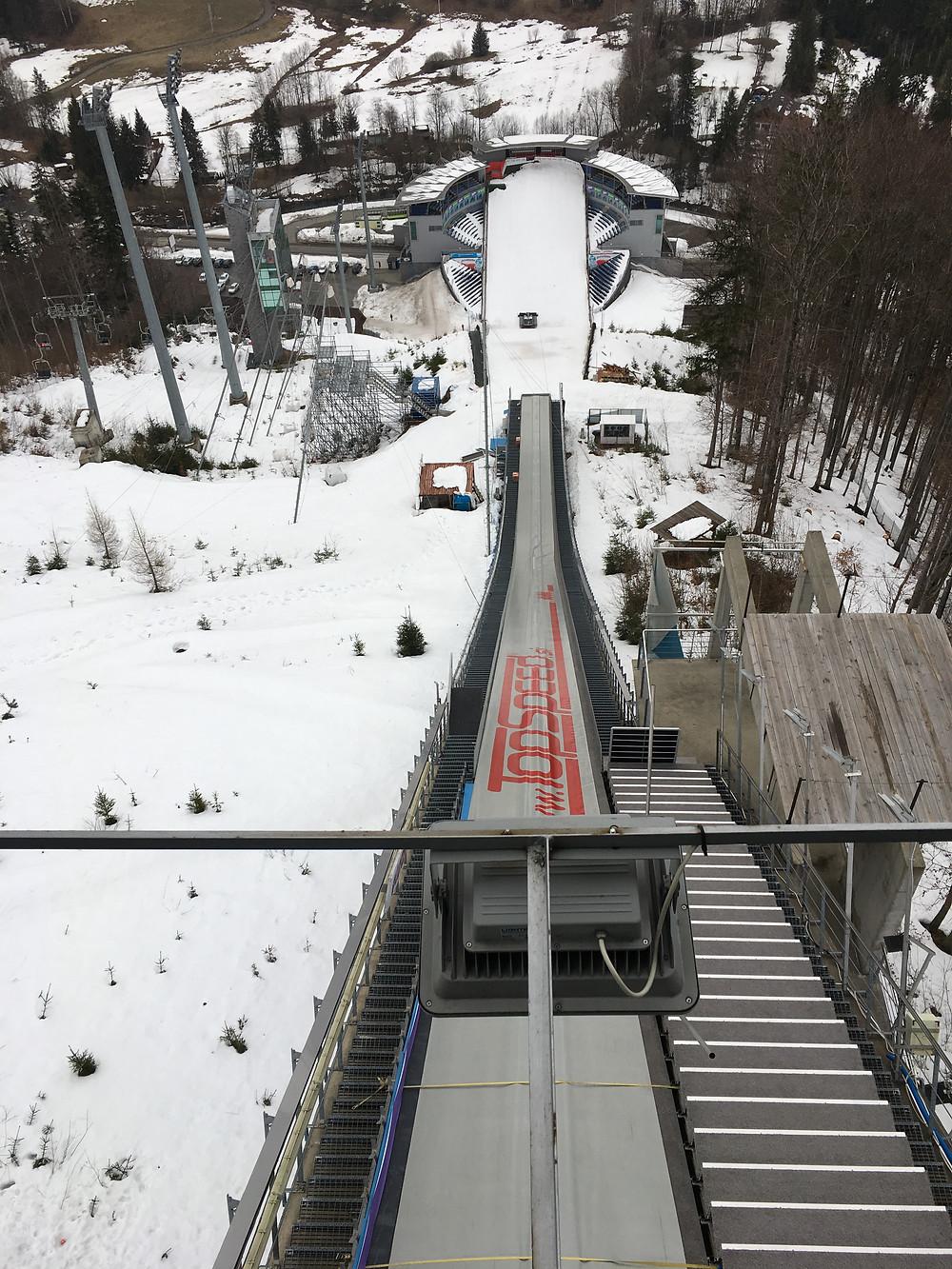 Ski Jumping Hill in Wisła