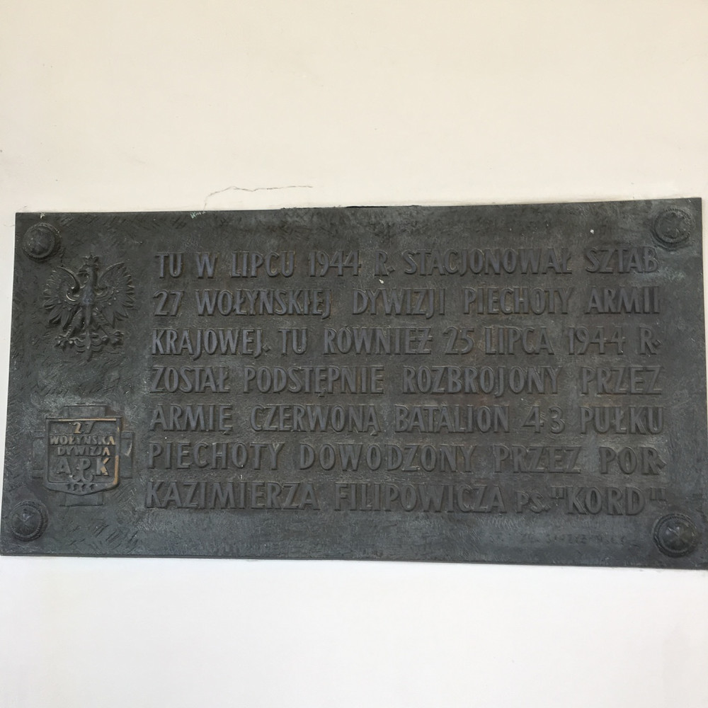 Kozlowka history label
