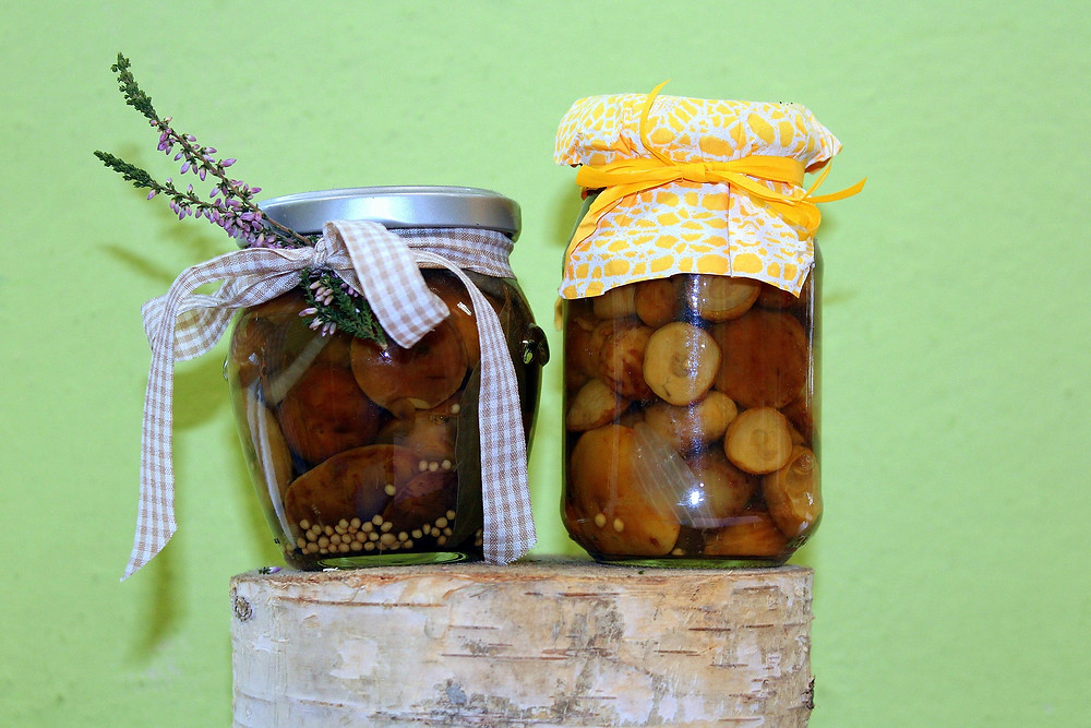 Mushrooms pickle