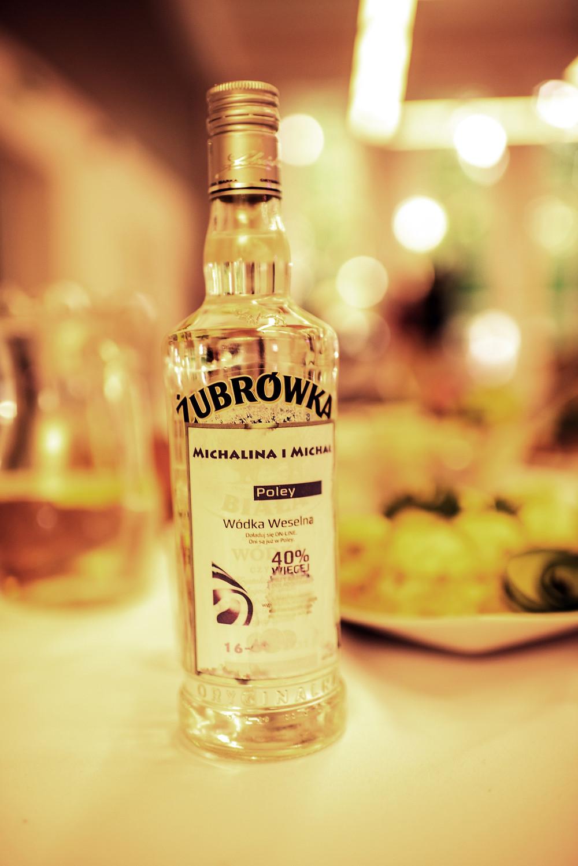 Polish wedding vodka