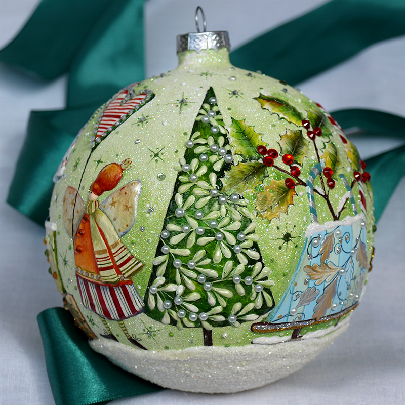 Christmas ornaments by LadyBe