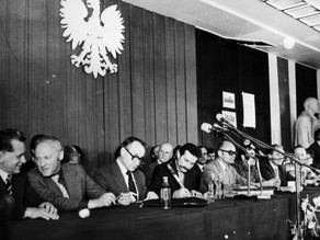 The beginning of Solidarity in Poland