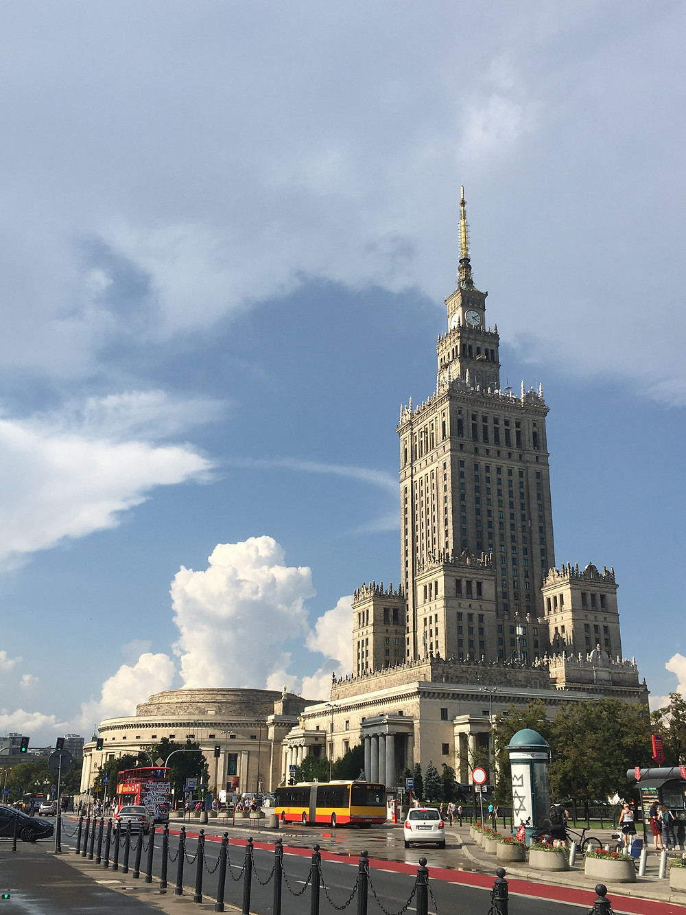 Warsaw, Pałac Kultury i Nauki