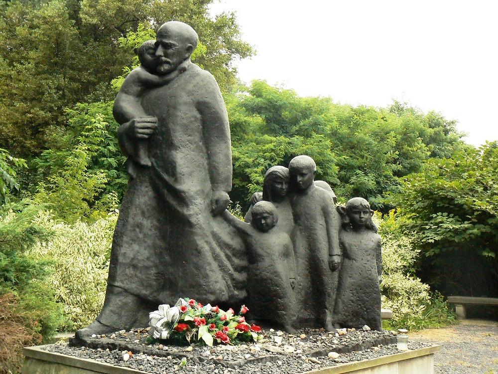 Janusz Korczak Monument