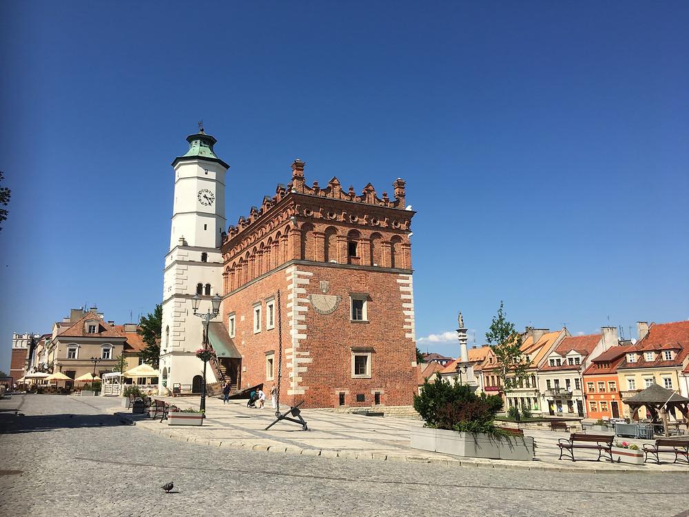 Sandomierz, The Town Hall