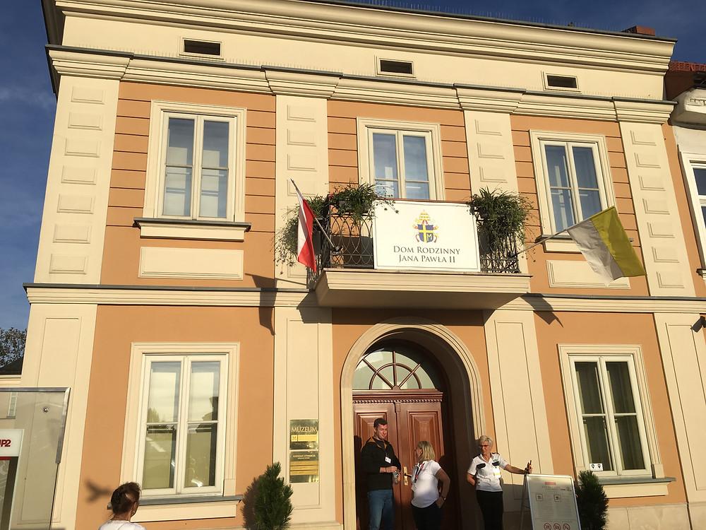 Wadowice, home of Karol Wojtyla