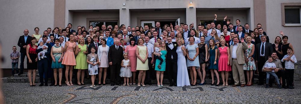 Polish wedding, Family