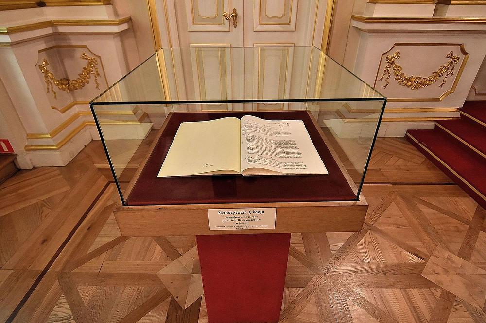 Constitution 3rd May, 1791, Royal Castel, Warsaw fot. Adrian Grycuk