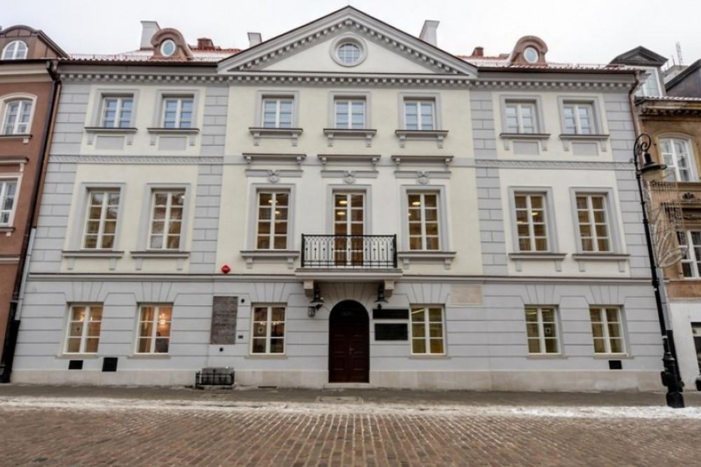 Maria Skłodowska - house in Warsaw