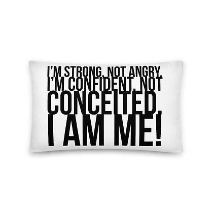 I Am Me! Pillows - White