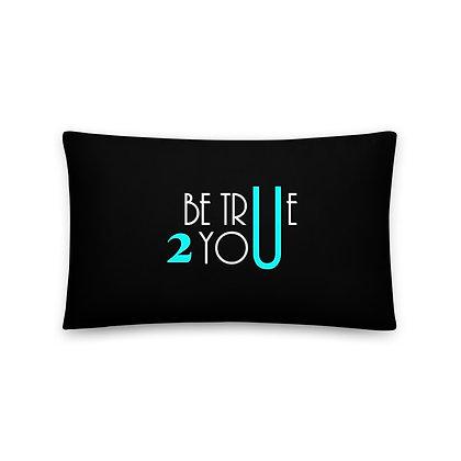 BT2U Throw Pillows - Turquoise