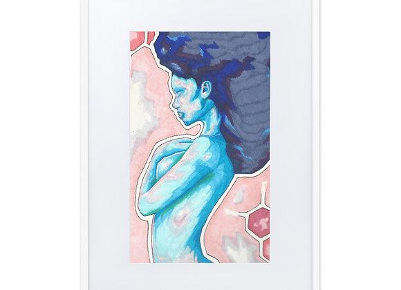 Amber Framed Poster