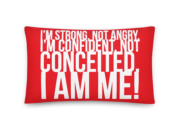 I Am Me! Pillows - Red